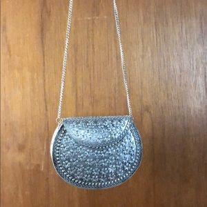 Handbags - Metal clutch